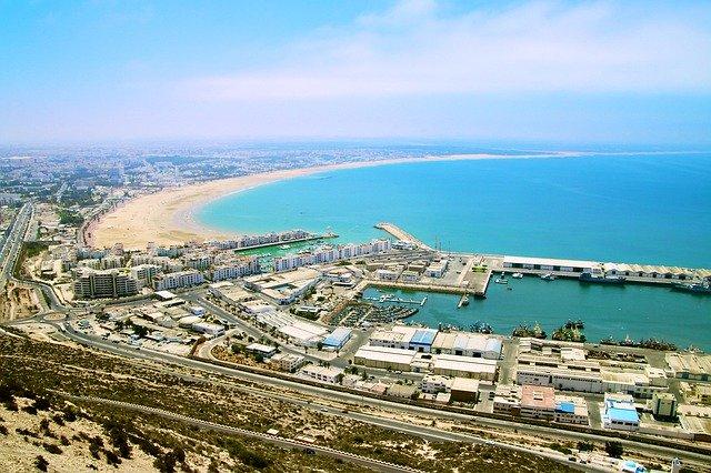 Agadir meilleur endroit touristique à visiter au Maroc