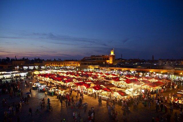Marrakech meilleur endroit touristique à visiter au Maroc