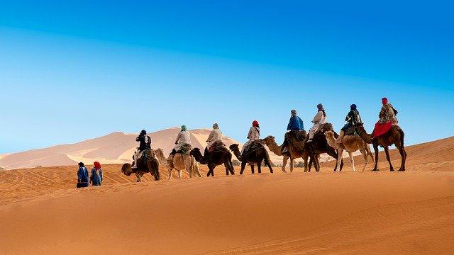 Merzouga meilleur endroit touristique à visiter au Maroc